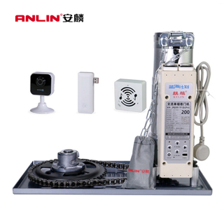 Anlin Artificial Intelligence High Speed Door Opener Rolling Shutter Side Motor